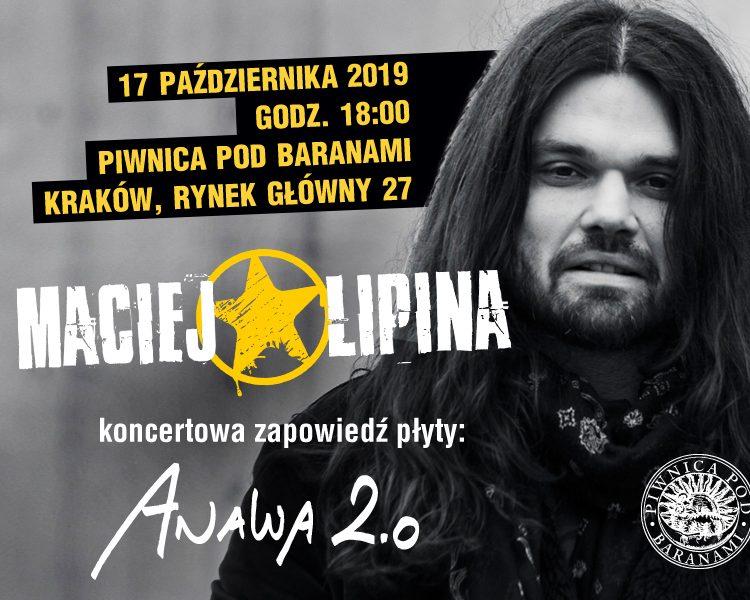 17 października 2019 Kraków Piwnica Pod Baranami